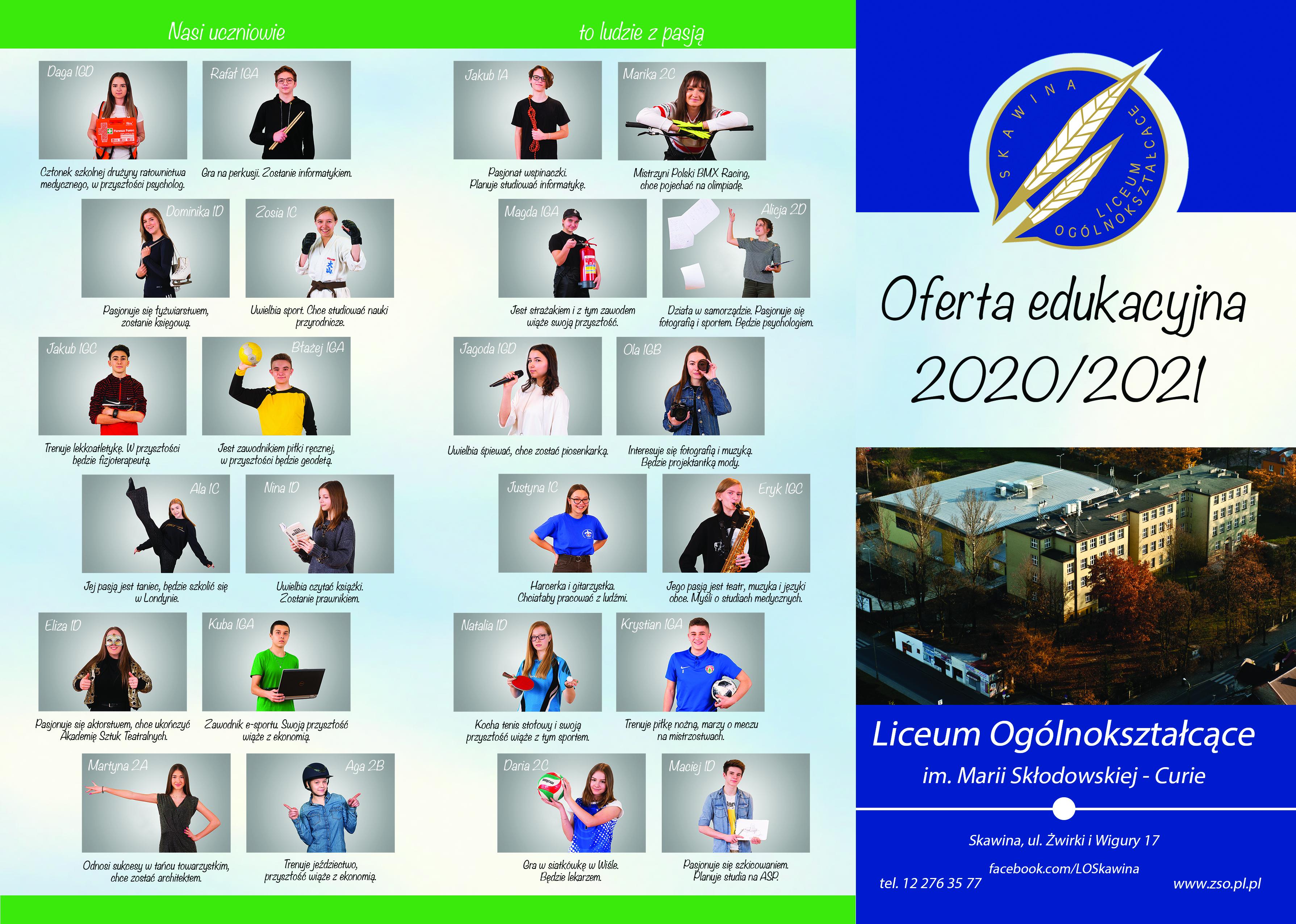 Aktualności Liceum Ogólnokształcące W Skawinie